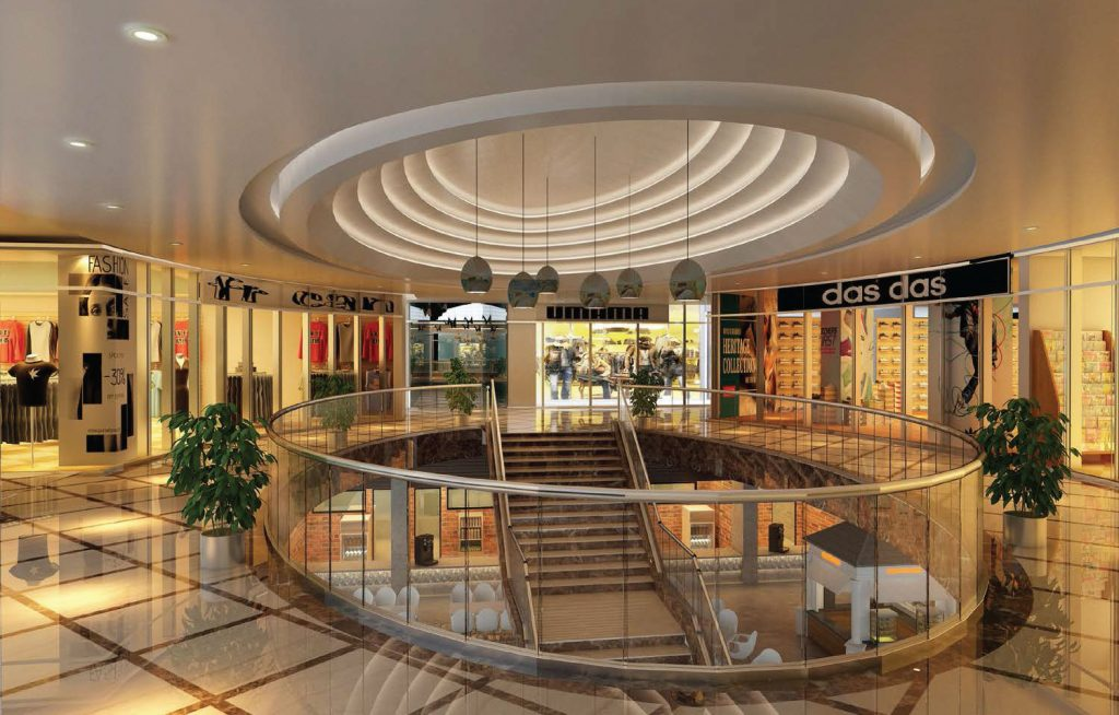 The lobby with its welcoming ambience - Candor TechSpace