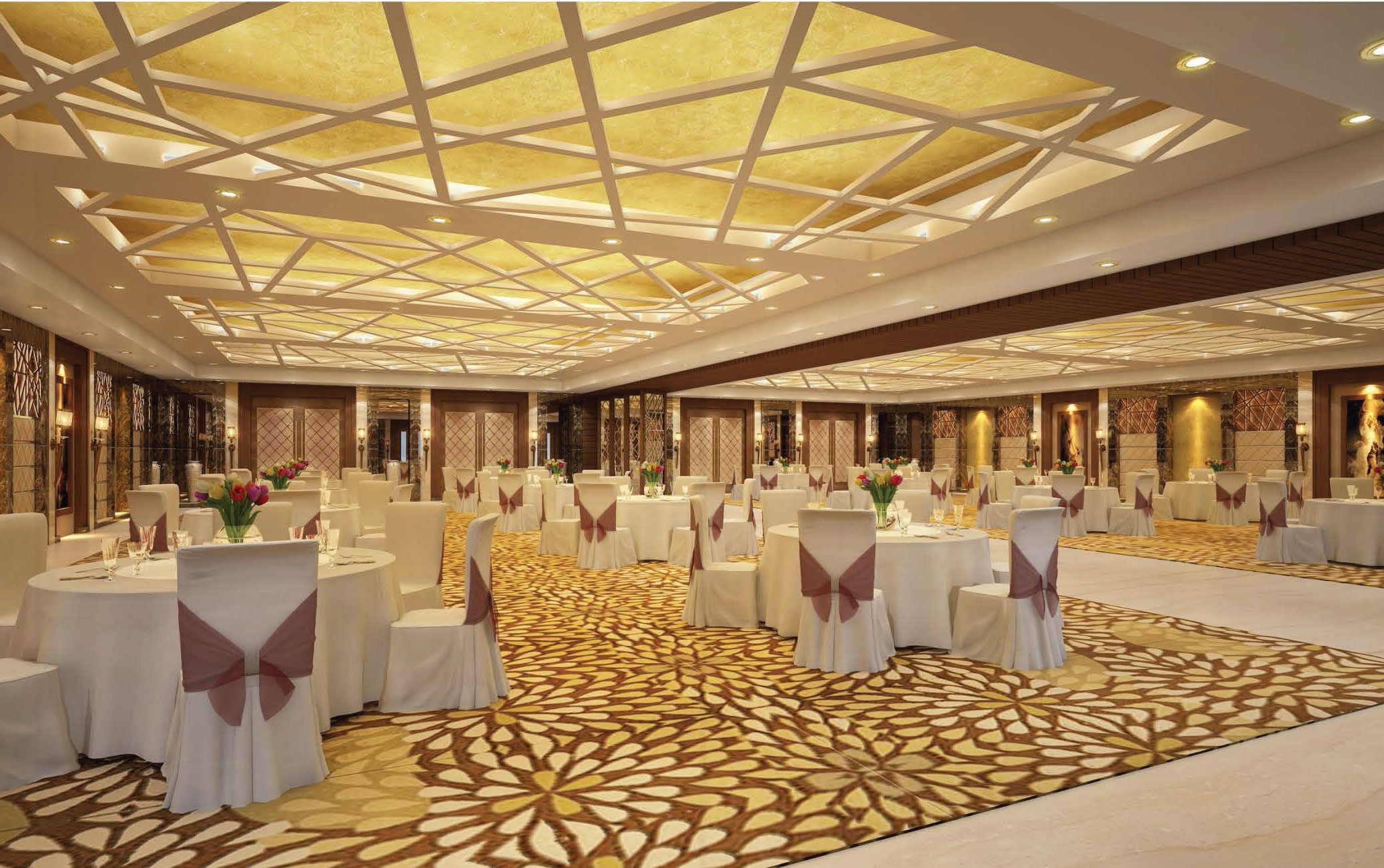 The proposed banquet hall - Candor TechSpace